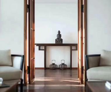 怡海花园180平米新中式风格四居
