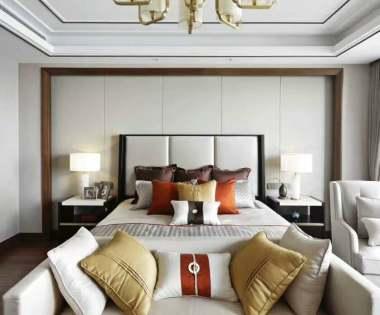金科王府230平米新中式风格别墅装修设计