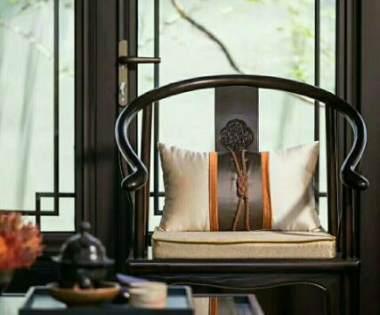 800平米别墅装修报价中式风格样板房【龙发装饰别墅设计】