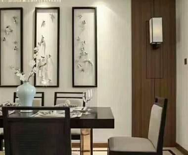 170平米现代简约风格装修设计案例【龙发装饰别墅设计】