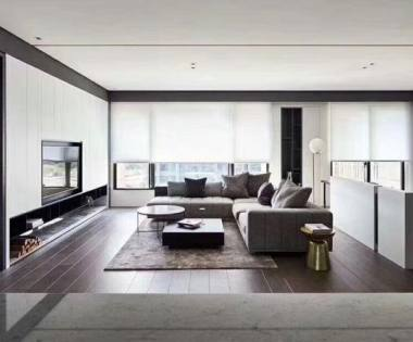 300平米现代简约风格别墅装修报价和样板间【龙发装饰别墅设计】