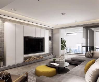 140平米现代简约三居室