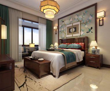 龙湾别墅新中式风格