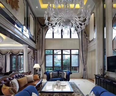 龙湖好望山700平米独栋别墅装修设计案例 龙发装饰FA别墅设计机构