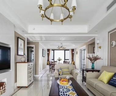 海航小区200平米美式风格大宅设计【龙发别墅设计】