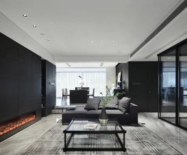 300平米别墅装修报价和案例|现代简约别墅装修效果图|龙发装饰别墅设计