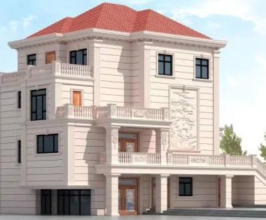 自建别墅设计图|自建别墅装修案例|1000平米豪宅设计|别墅外观设计|龙发装饰别墅设计